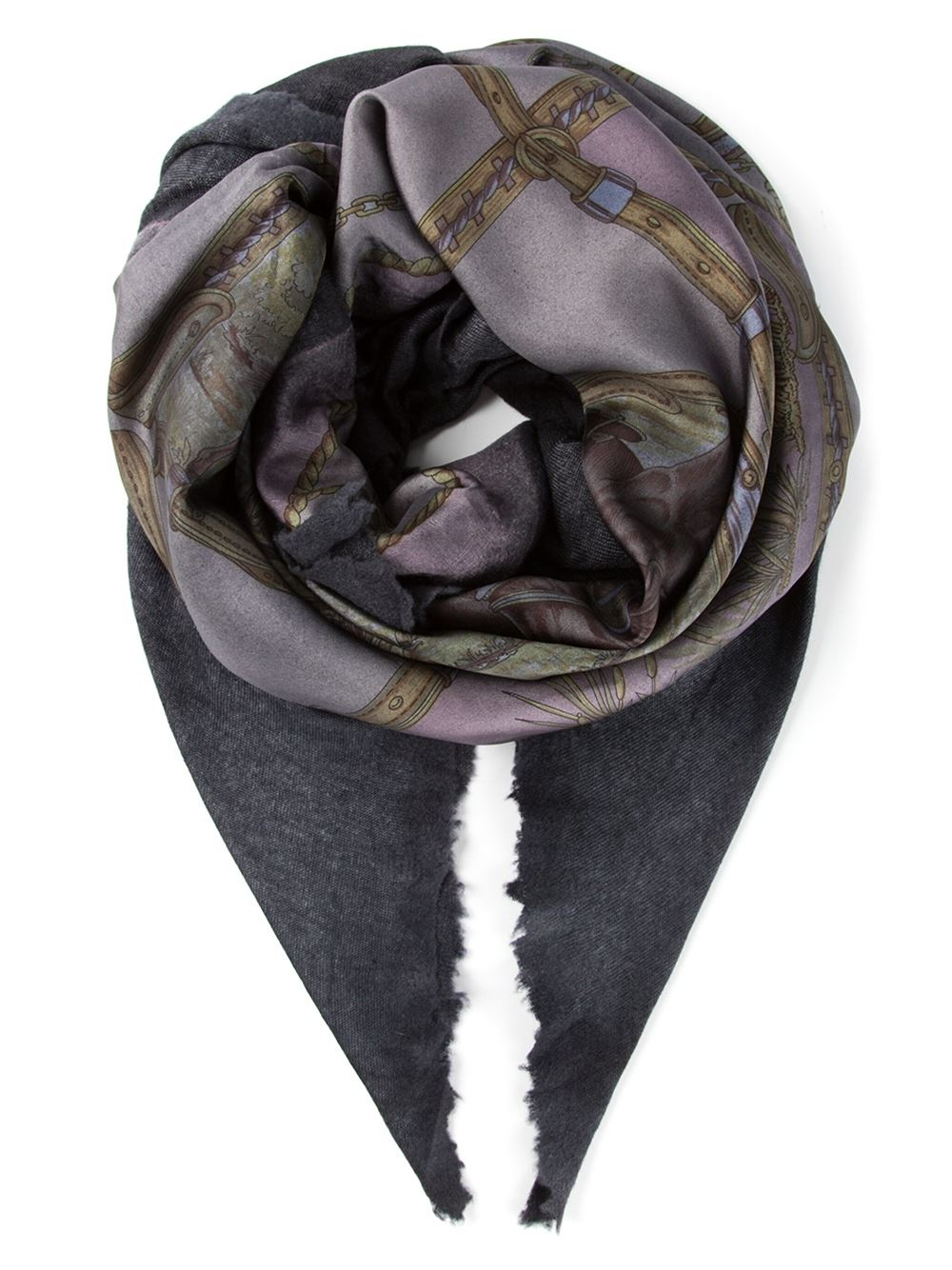 avant toi foulard scarf in pink for lyst