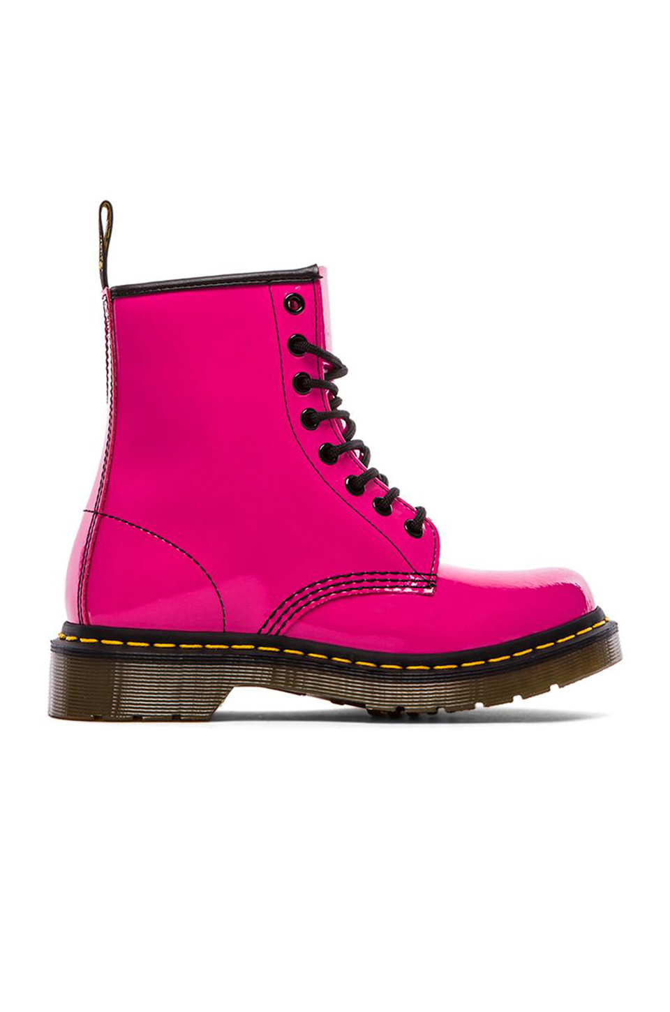 Dr Martens 1460 W 8 Eye Boot In Pink Lyst