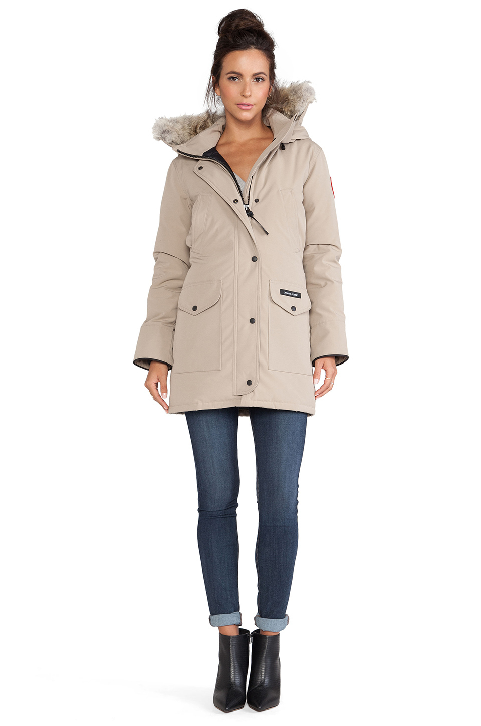 canada goose fur trimmed down filled montebello parka Table : canada goose brown trillium parka product 1 24885849 1 134752630 normal from www.table.co.uk size 960 x 1450 jpeg 303kB