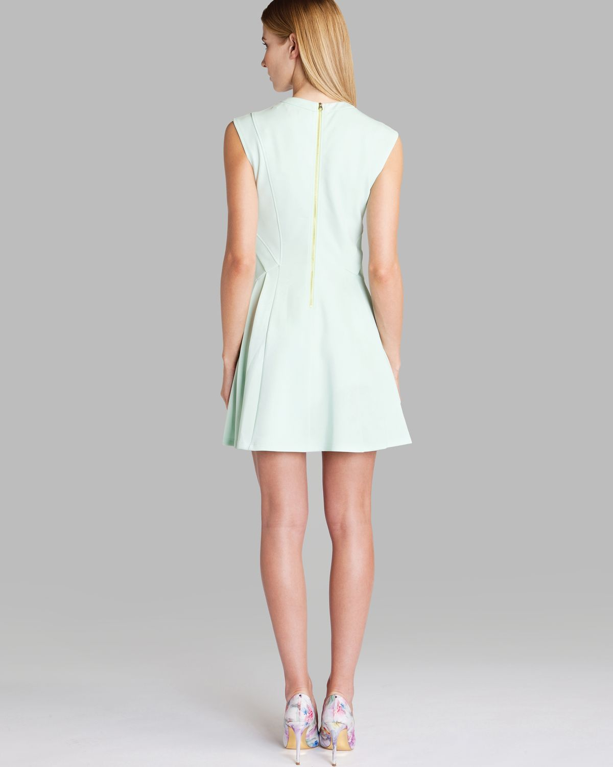 d29a903c8af829 Ted Baker Nistee Skater Dress ( Size 3- 8 US)