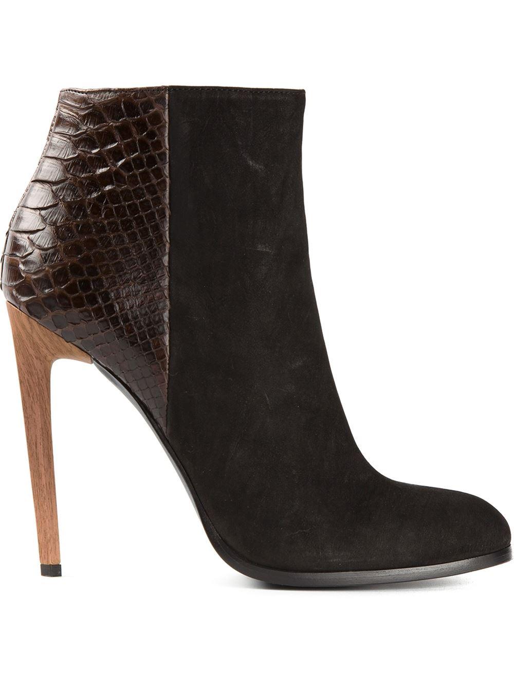 Haider Ackermann Stiletto heel ankle boots zEL1VG1