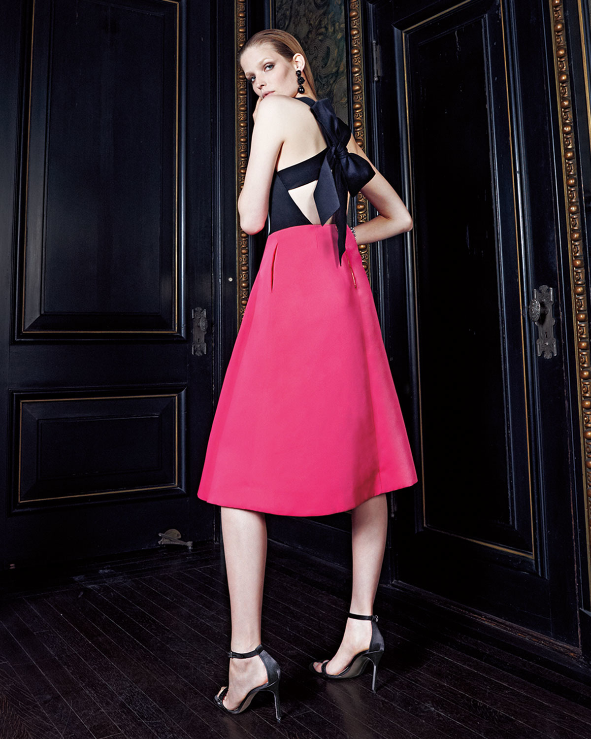 Lyst Kate Spade New York Colorblock Bow Back Fit And