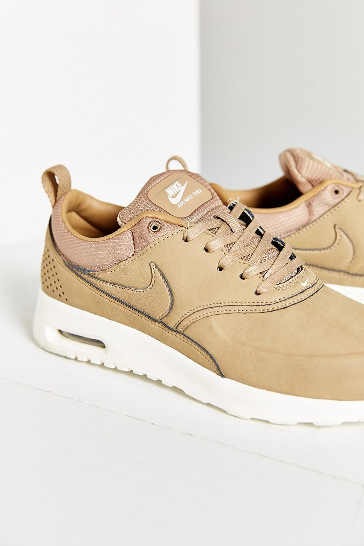 norway nike air max thea beige leather sneakers 2d51a 9ba94