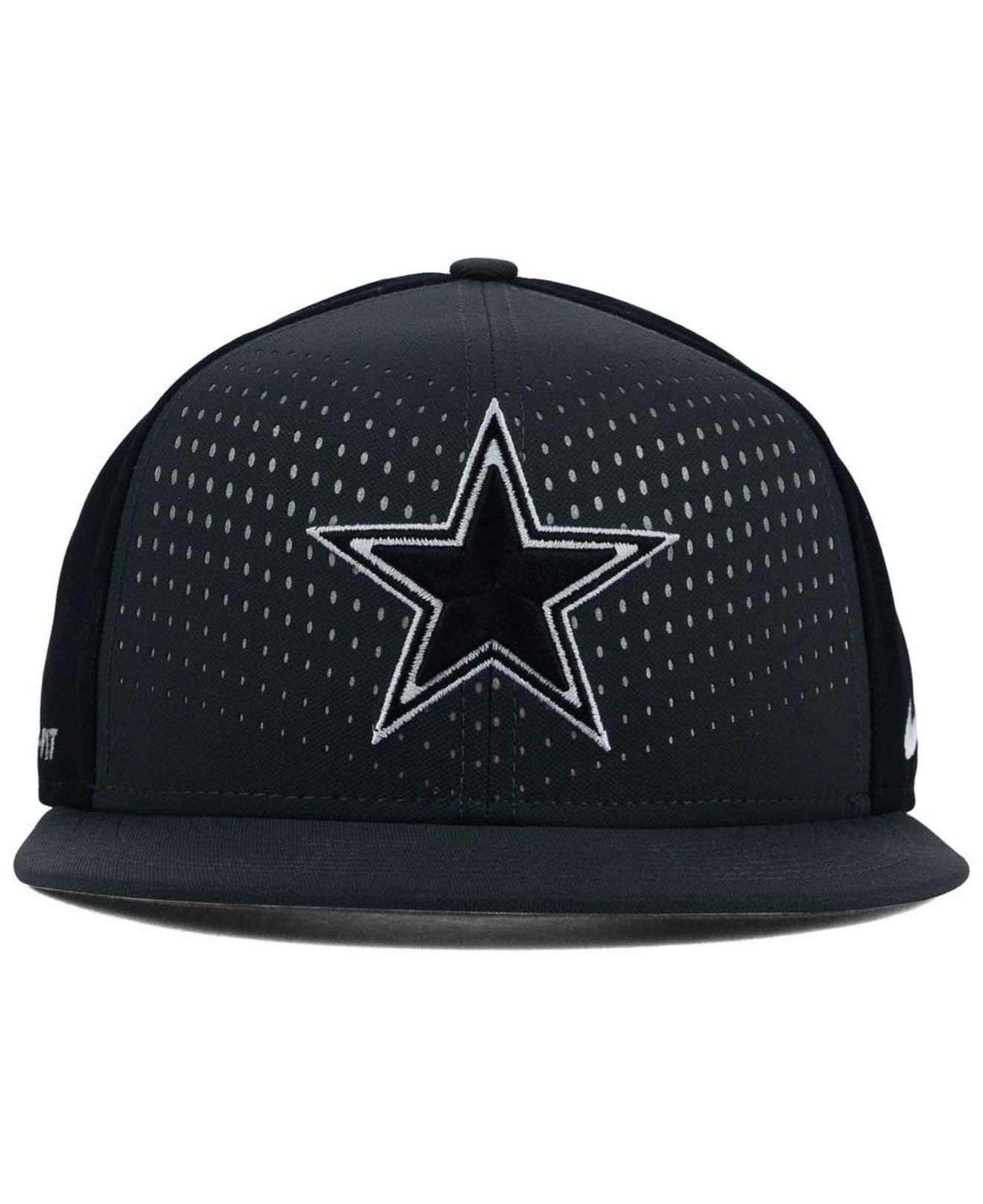 6b80b29ac5a9b Nike Dallas Cowboys Gameday True Snapback Cap in Gray for Men - Lyst