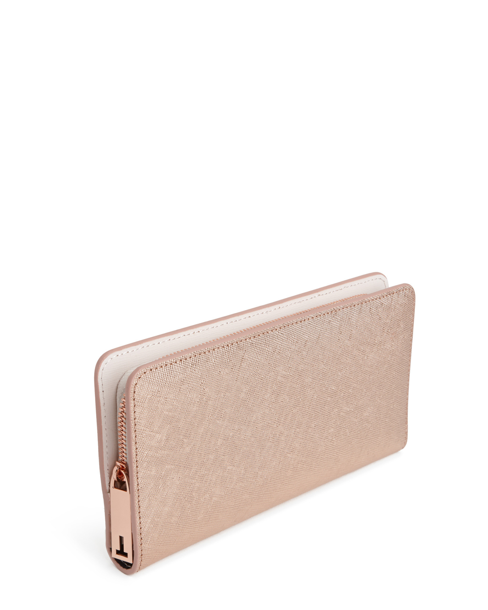 1f066bb53b7c80 Ted Baker Leather Matinee Purse In Pink Lyst. Ted Baker Womens Accessories  Marta Crystal Pearl Bobble Matinee Purse Rose Gold