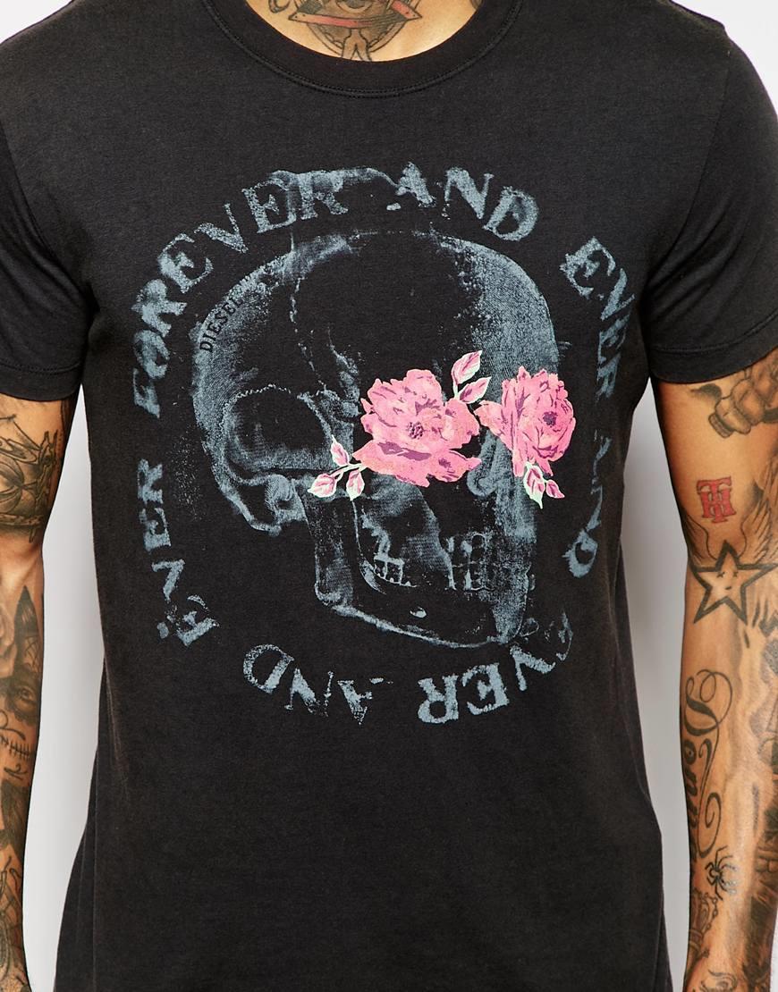 Black t shirt skull - Gallery