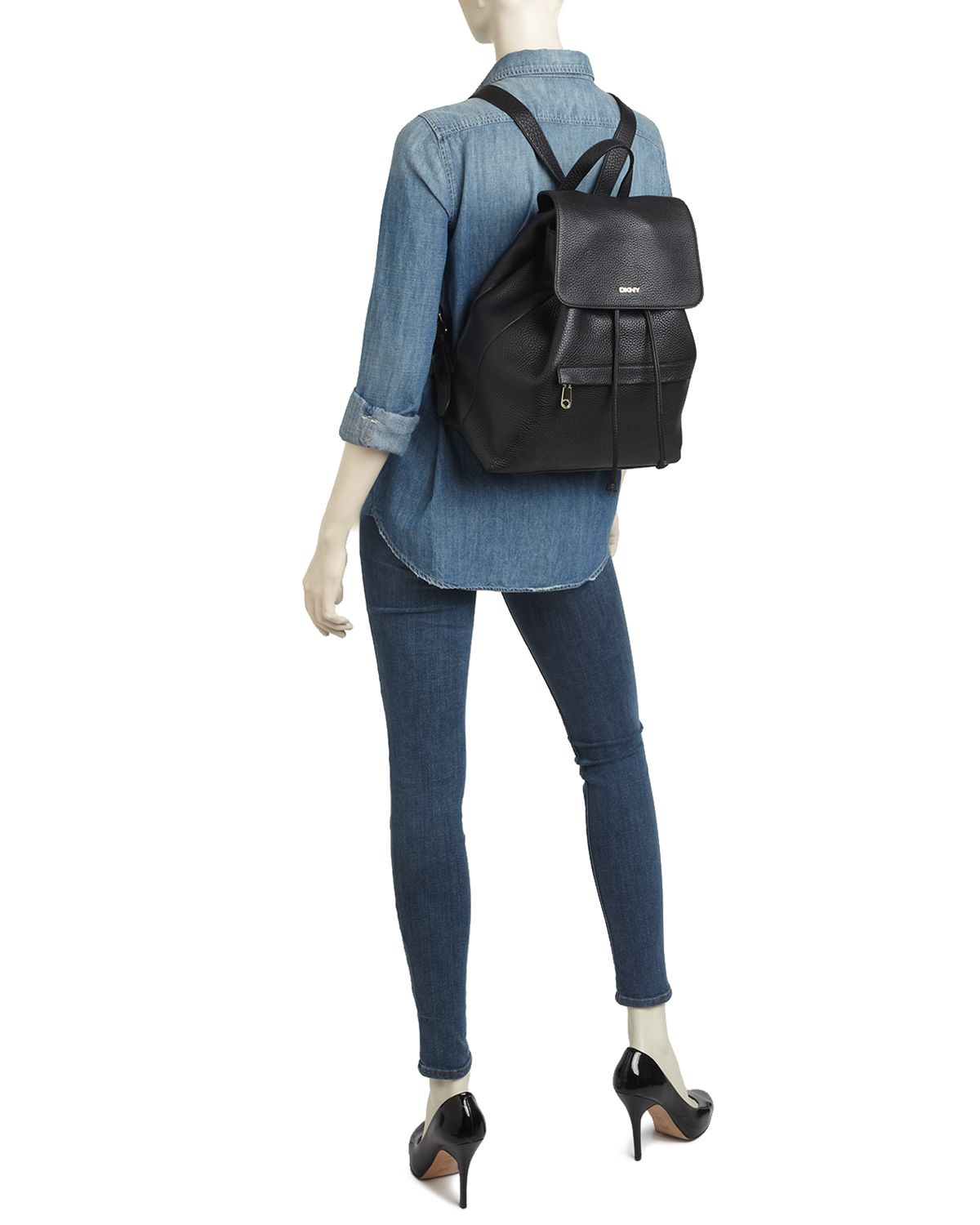 Dkny Backpack - Tribeca in Black | Lyst : dkny quilted rucksack - Adamdwight.com