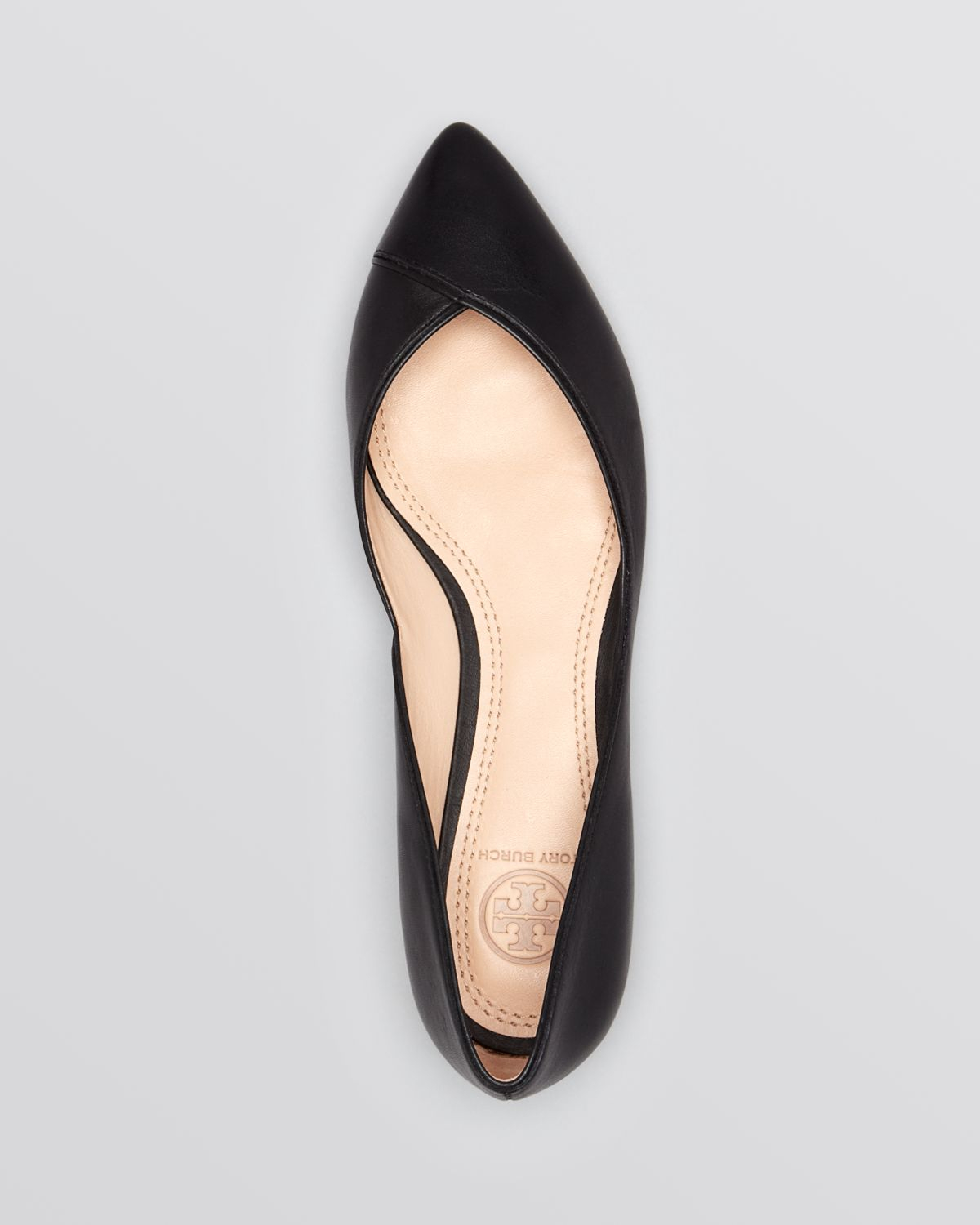 Tory Burch Suede Round-Toe Flats Inexpensive sale online gDxOwPc