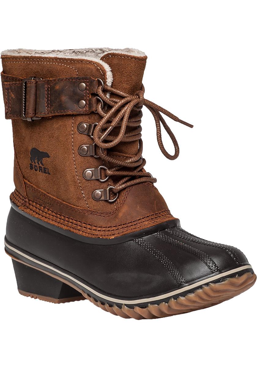 Sorel Winter Fancy Lacell Tan Snow Boot in Brown | Lyst