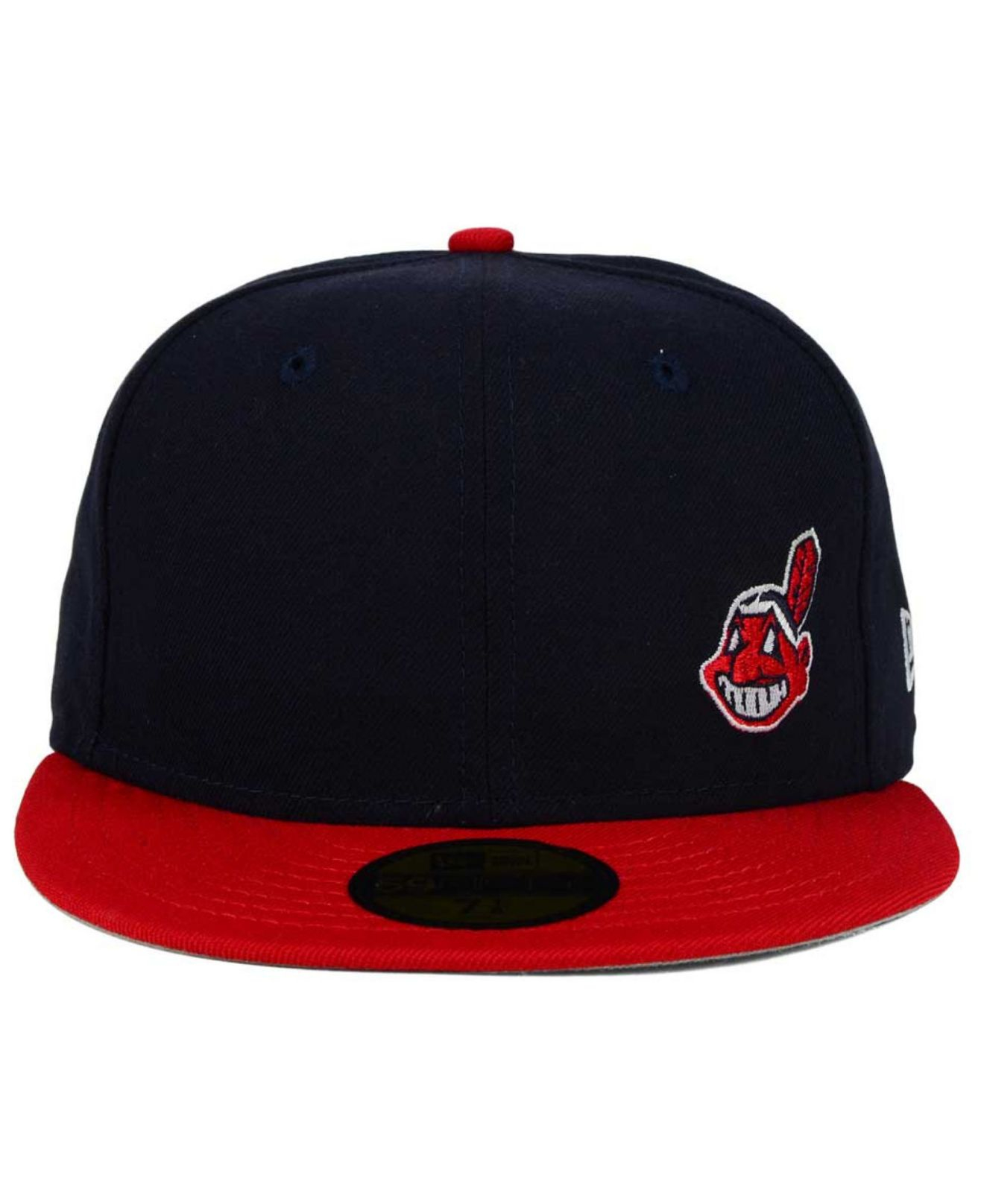73d9a2290c2 Lyst - KTZ Cleveland Indians Smalls 59fifty Cap in Blue for Men
