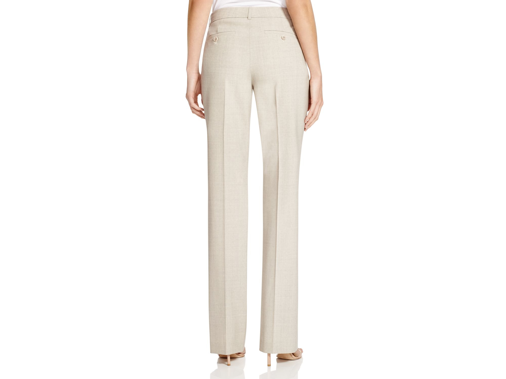fdb4c3ede4 Theory Pants - Custom Max 2 Edition in Natural - Lyst