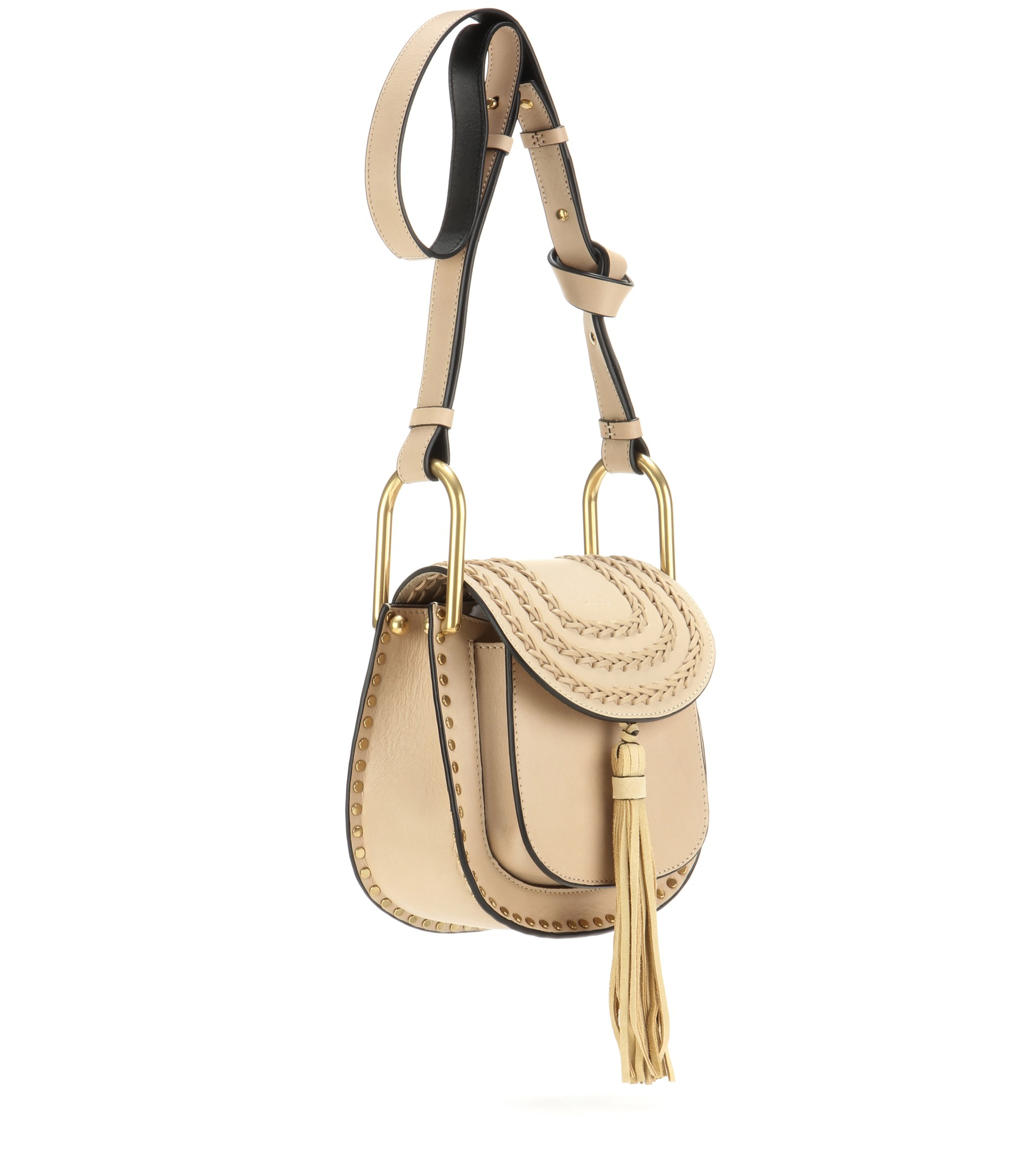 chloe beige hudson shoulder bag