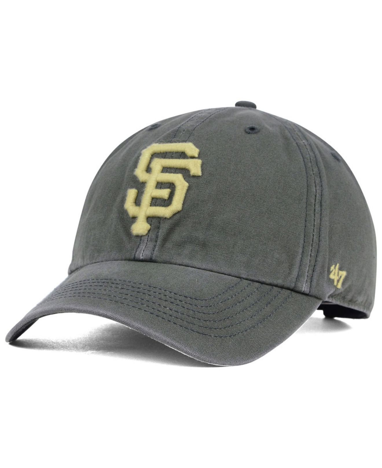 huge discount a6fff 5579f ... australia lyst 47 brand san francisco giants stillwater clean up cap in  gray 218c7 3e53f