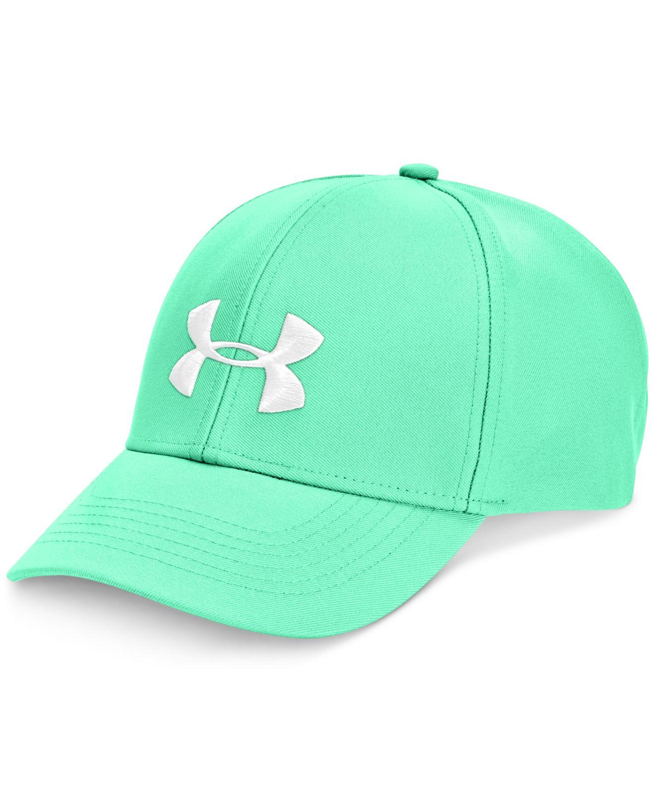 Lyst - Under Armour Adjustable-strap Cap in Green for Men 0f7821417de