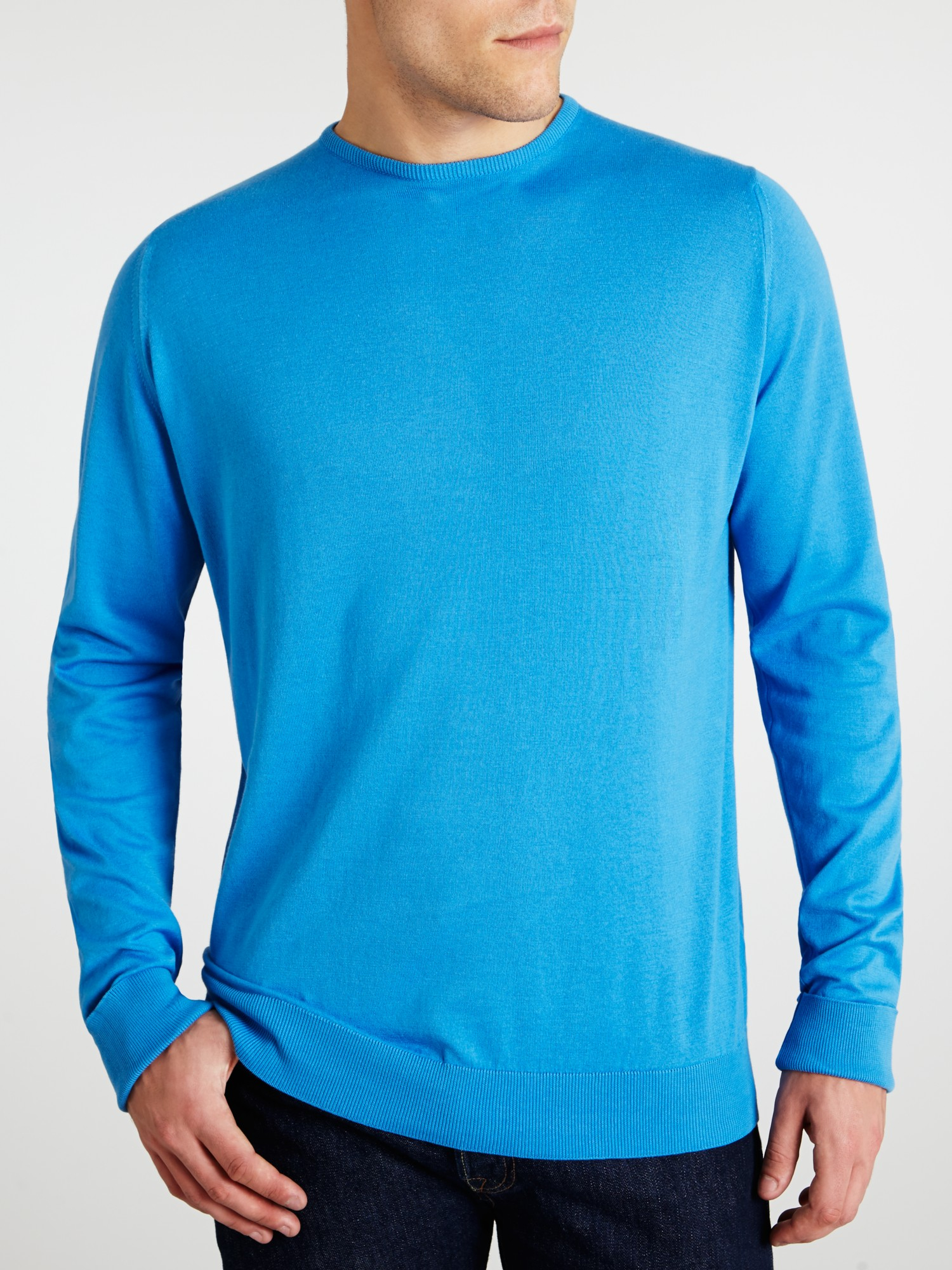 John Smedley - Black Sea Island Cotton Lyndhurst PulloverThe iconic style Lyndhurst is a long sleeved, crew neck pullover in John Smedley's Sea Island Cotton. R. M Browse / search.