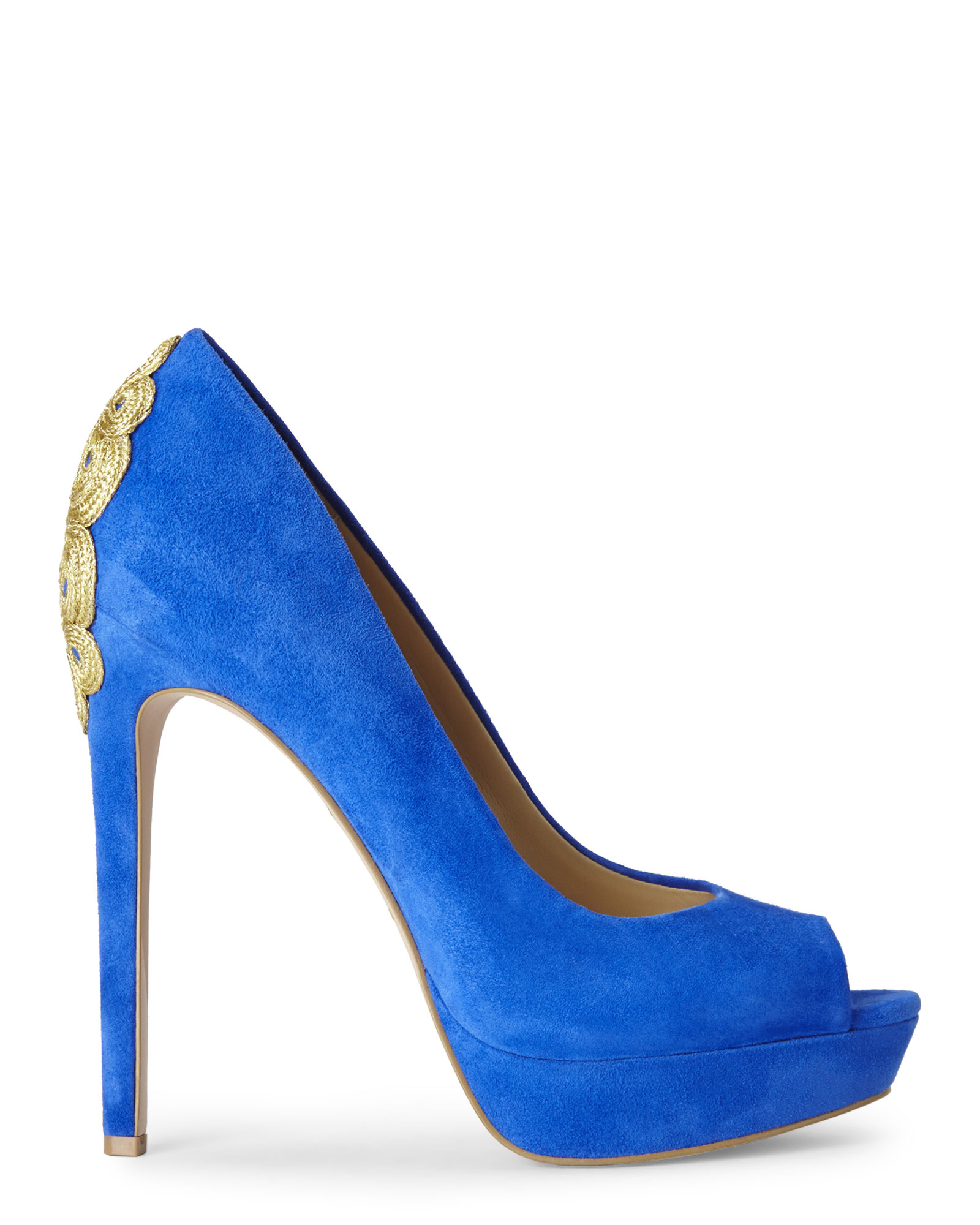outlet visit new order cheap price B Brian Atwood Embossed Peep-Toe Pumps clearance 2015 new T5qDmL