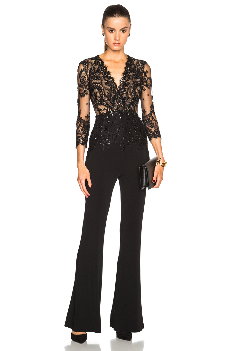 Zuhair Murad Jumpsuit In Black Lyst