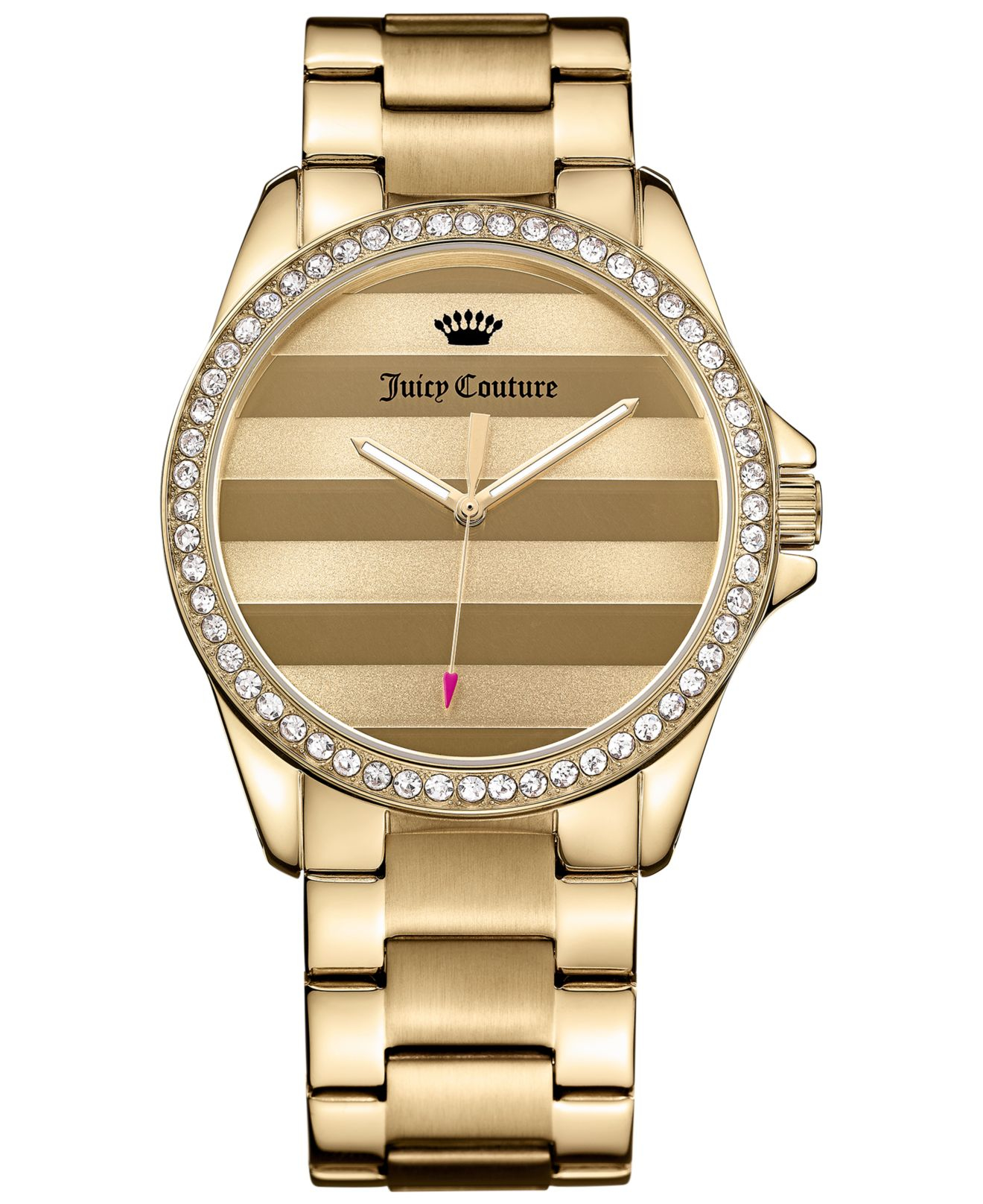 Juicy couture Women's Laguna Gold-tone Stainless Steel ...