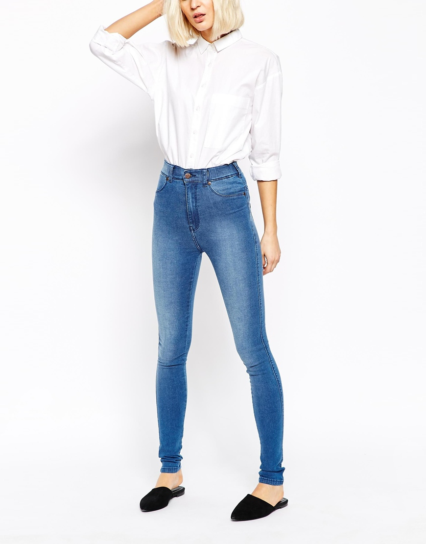 We found great high rise jeans and pants including high waisted mom jeans, high-waist flare jeans, high-waist skinny jeans and high-waist black jeans for women. These perfect pairs give you the.