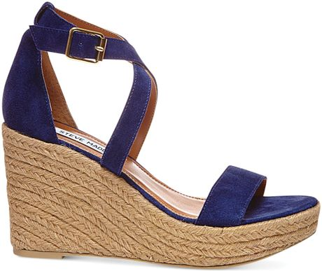 Steve Madden Womens Montaukk Platform Wedge Sandals In