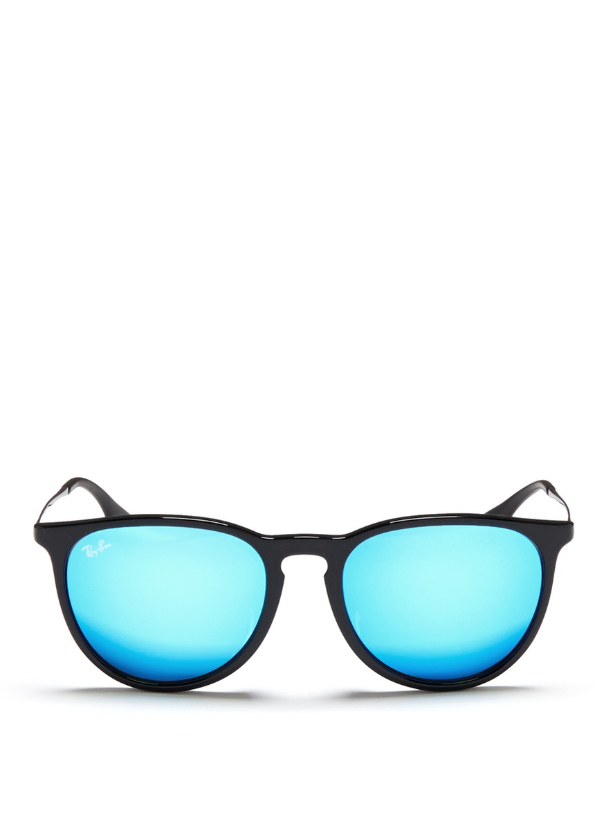 ray ban sunglasses blue frames  gallery