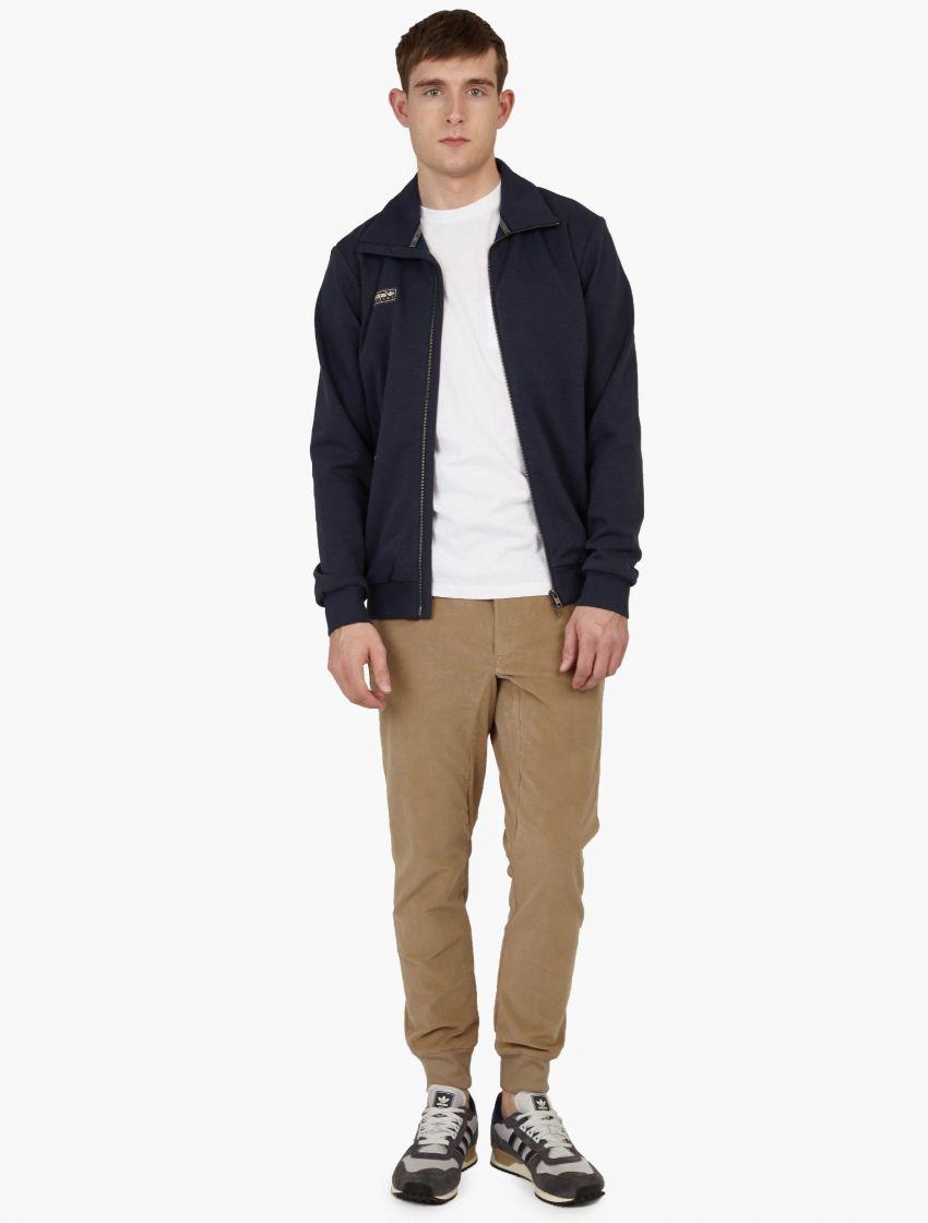 Adidas originals Beige Corduroy Spzl Settend Ii Cuffed Trousers in ...