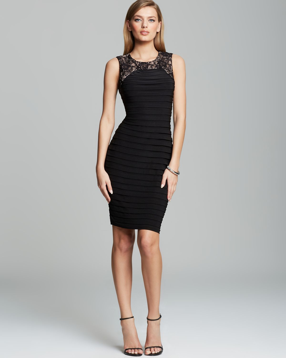 edfebf26cb2b Gallery. Previously sold at: Bloomingdale's · Women's Adrianna Papell Lace  Dress ...