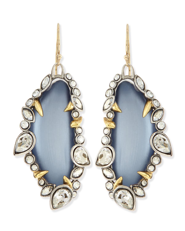 Alexis bittar jardin de mystere jagged crystal dangle for Jardin francais jewelry