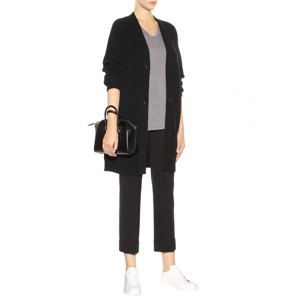 4f92e05ad1 Lyst - Givenchy Antigona Mini Leather Shoulder Bag in Black