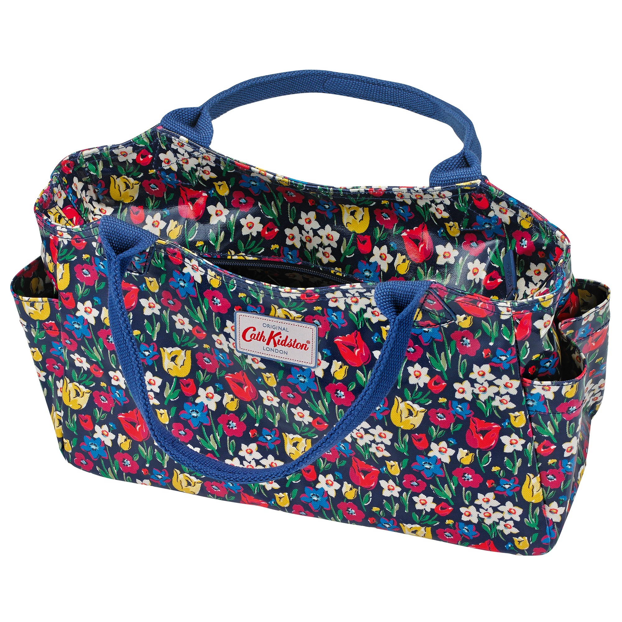Lyst - Cath Kidston Foldaway Overnight Bag In Floral Print In Blue