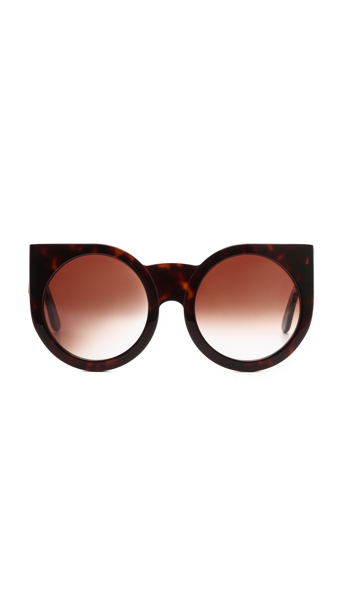Granny Sunglasses  wildfox granny sunglasses in brown lyst