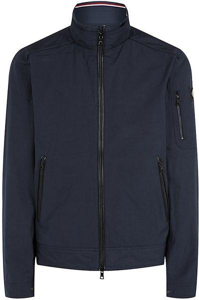 hackett aston martin blouson jacket in blue for men lyst. Black Bedroom Furniture Sets. Home Design Ideas
