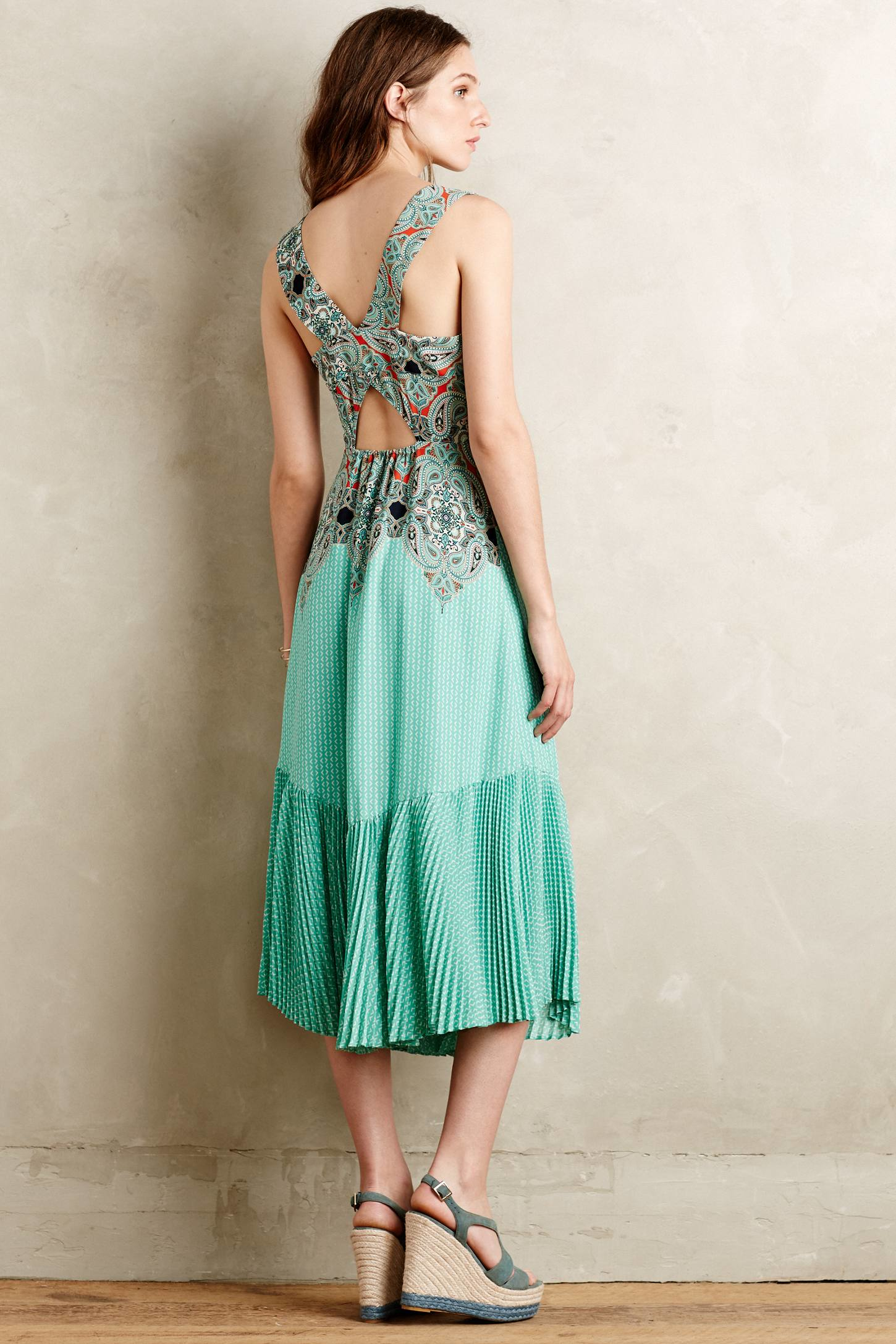 081271da4ae5 Maeve Canyon Creek Maxi Dress in Blue - Lyst