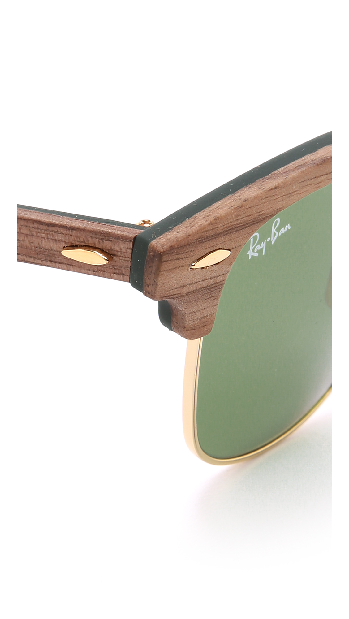 bb791ed6c8b3 Ray Ban Clubmaster Wood Frame