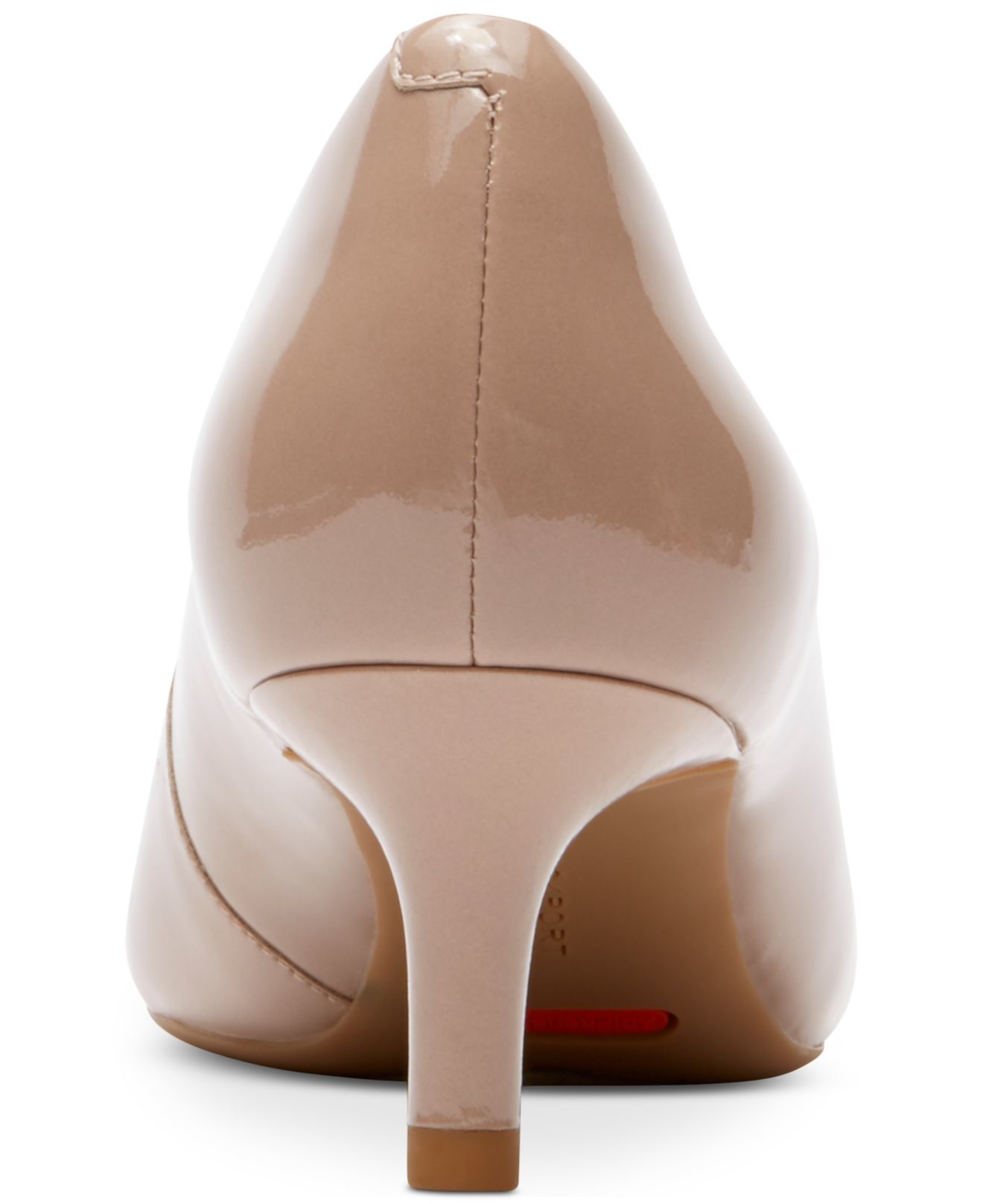 Taupe Kitten Heel Shoes
