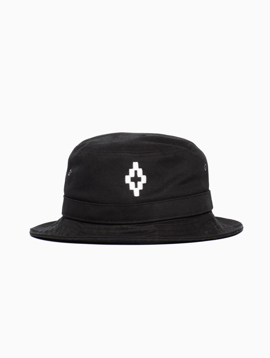 Lyst - Marcelo Burlon Cruz Bucket Hat in Black for Men 53b9e1b310d