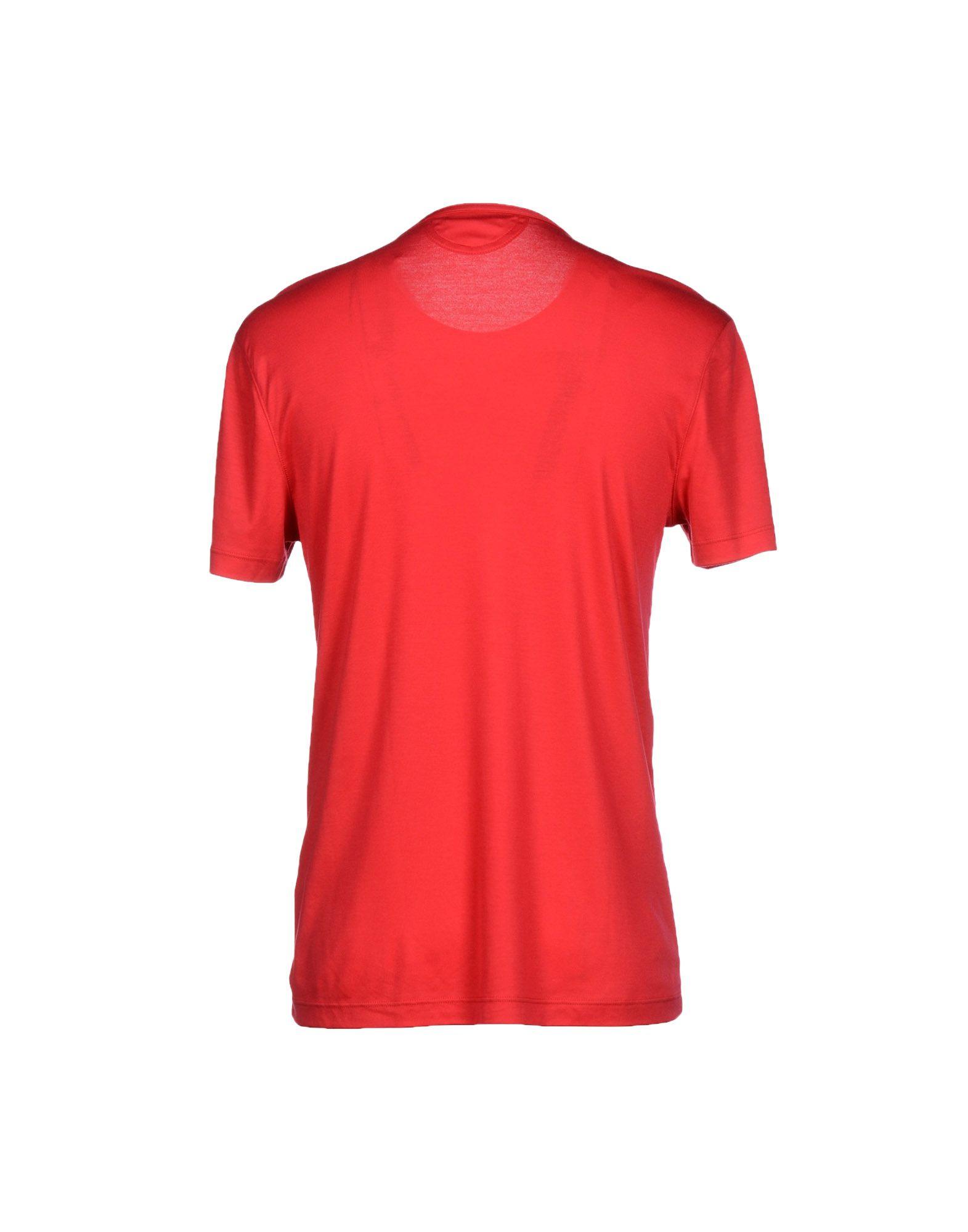 helmut lang t shirt in red for men lyst. Black Bedroom Furniture Sets. Home Design Ideas