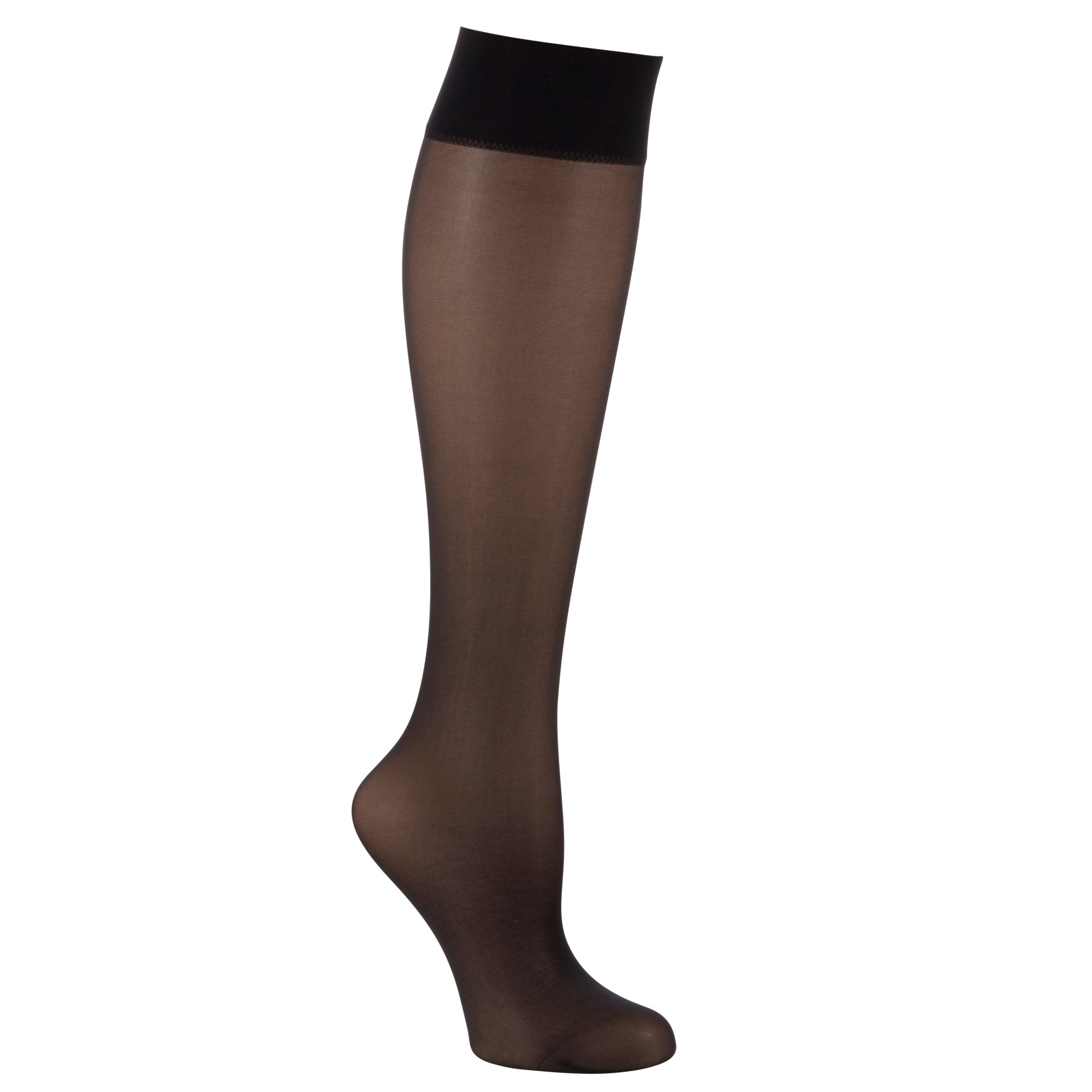 873693e5b Wolford Satin Touch 20 Denier Knee Highs in Black - Lyst