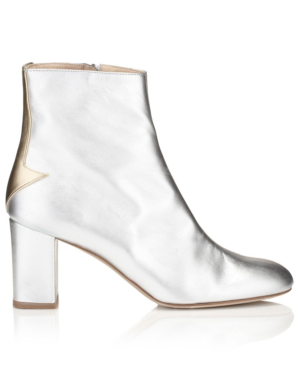 Camilla elphick Silver Lining Ankle Boots in Metallic | Lyst