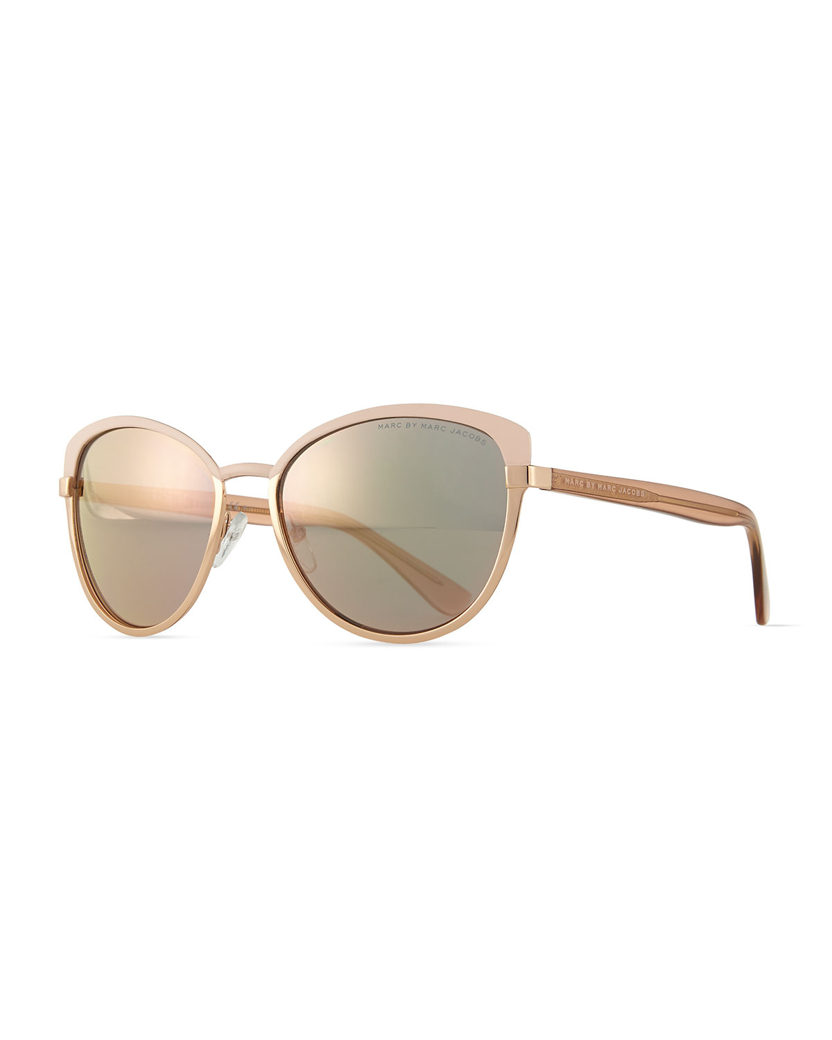 Marc Jacobs Gold Frame Sunglasses : Marc by marc jacobs Special Edition Metal Butterfly ...
