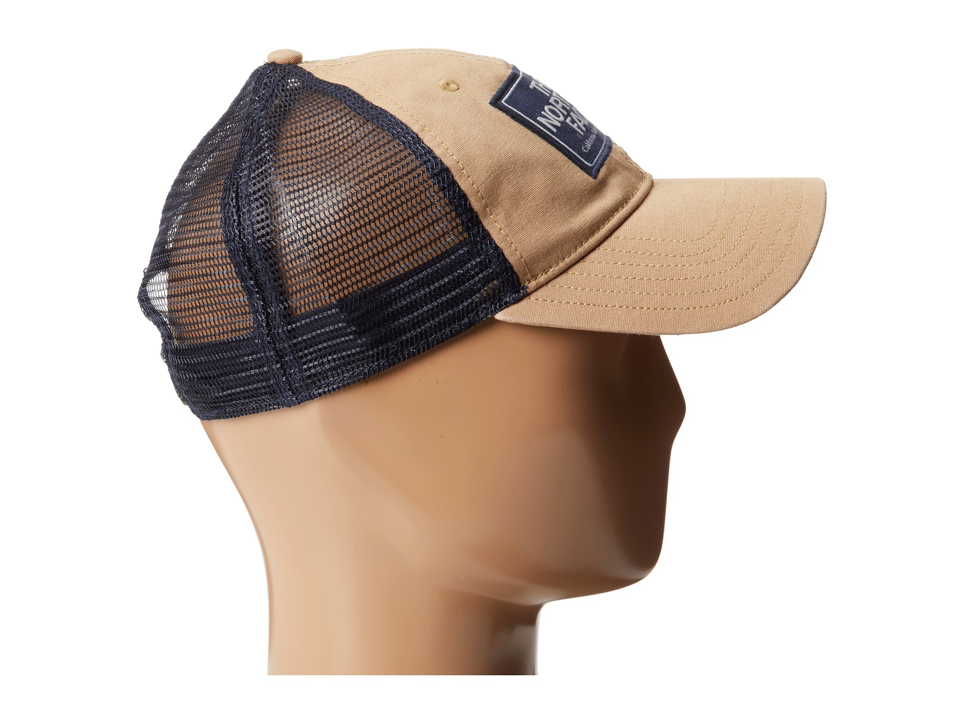 db625d2a427 Czapka The North Face Mudder Trucker Hat - british khaki estate blue The  North Face