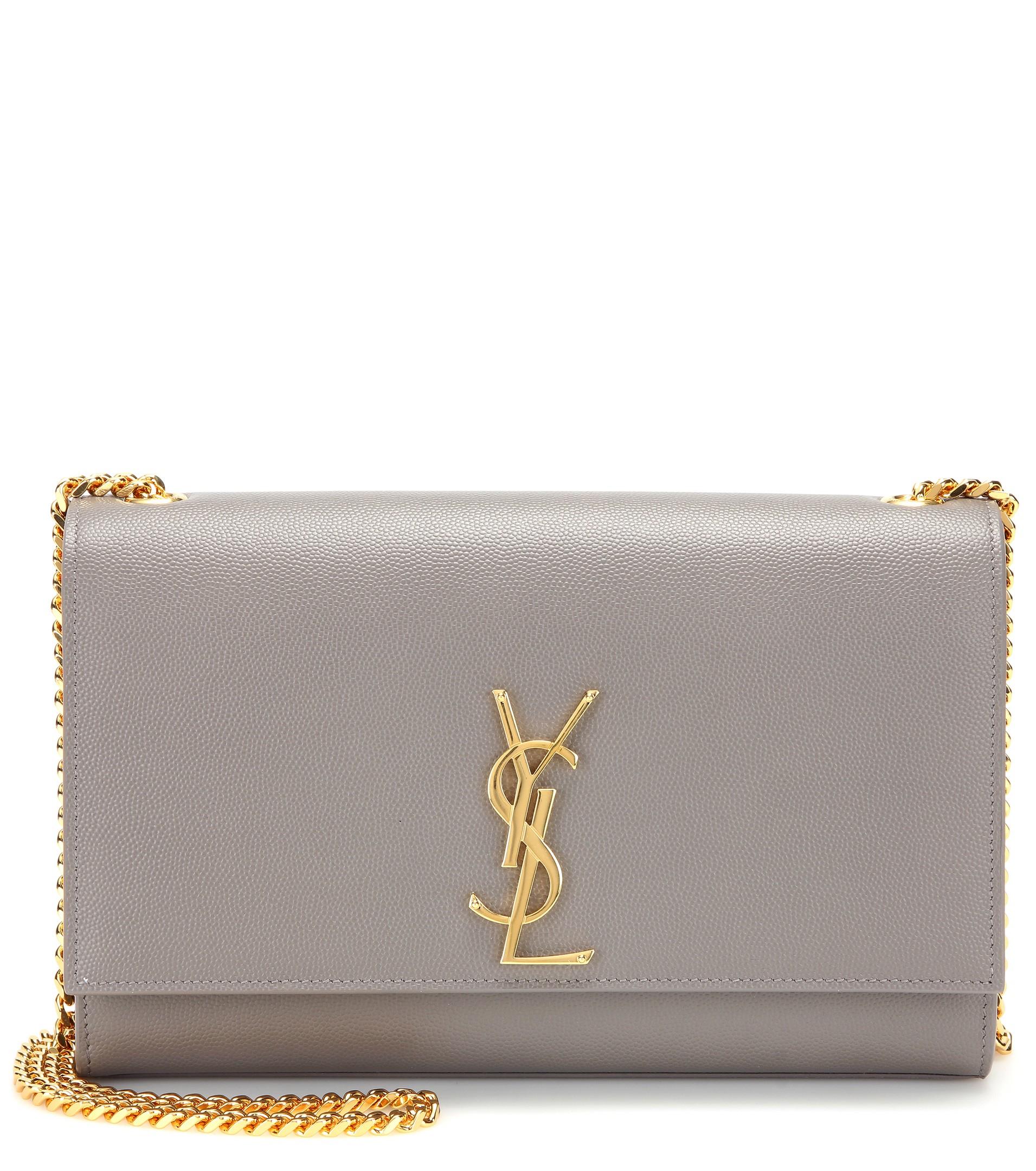 ae95e46aa676c ysl rive gauche bag - classic large monogram saint laurent college bag in  light grey .