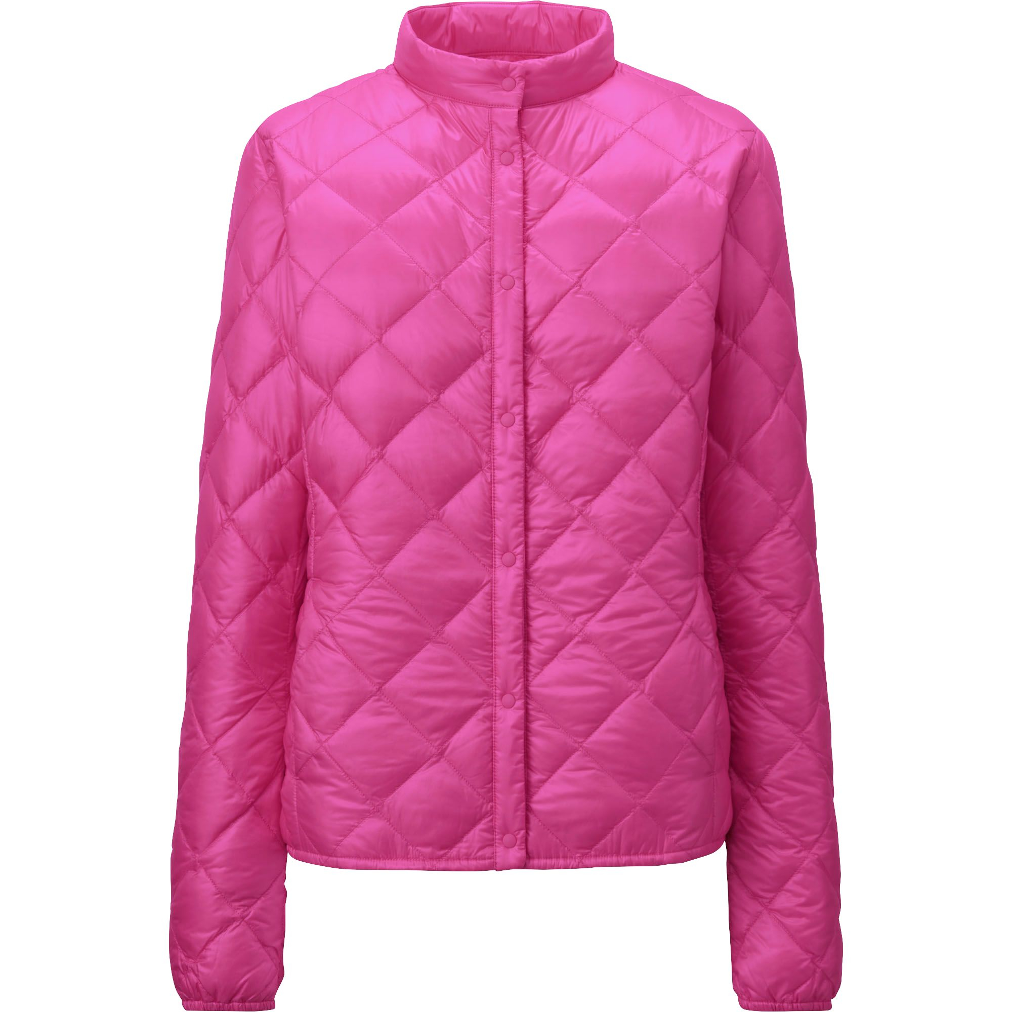Uniqlo Ultra Light Down Compact Quilted Jacket In Pink