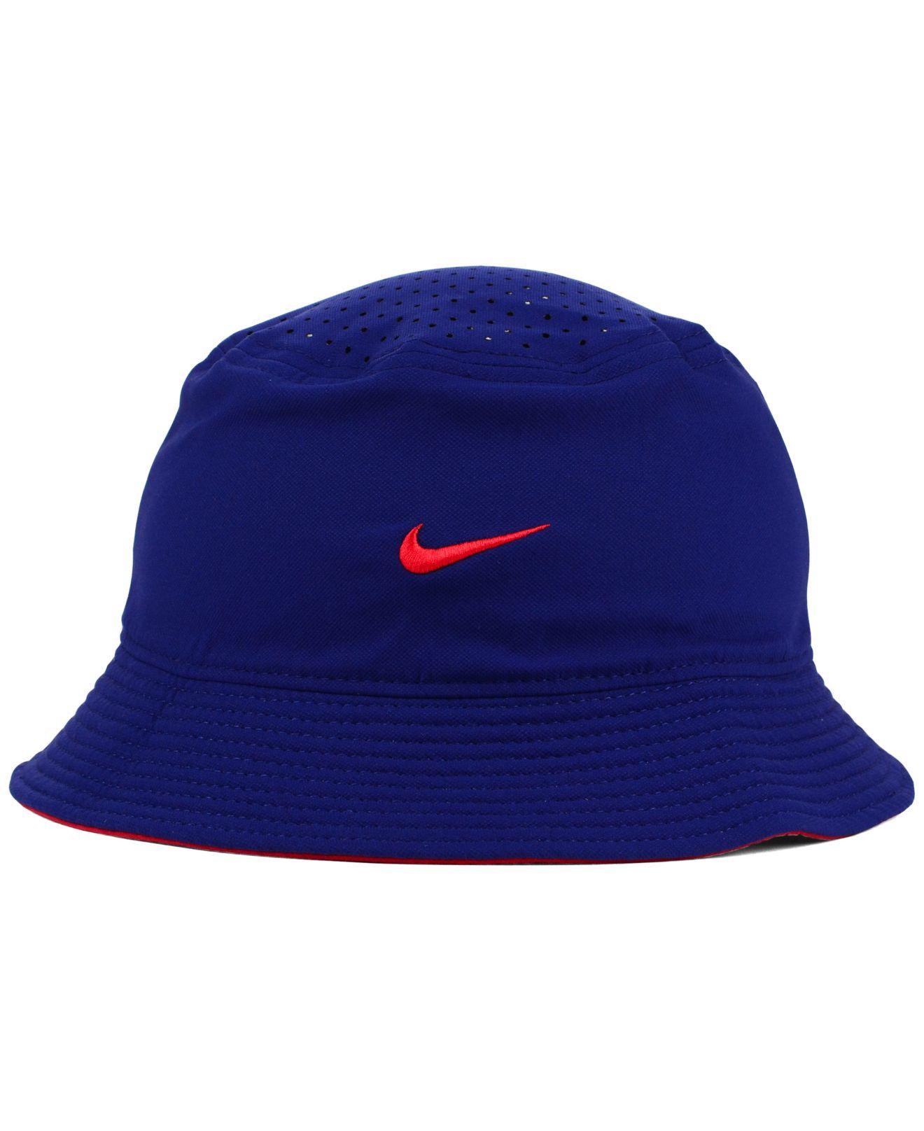 7c4efcfa62c Lyst - Nike Chicago Cubs Vapor Dri-Fit Bucket Hat in Blue for Men