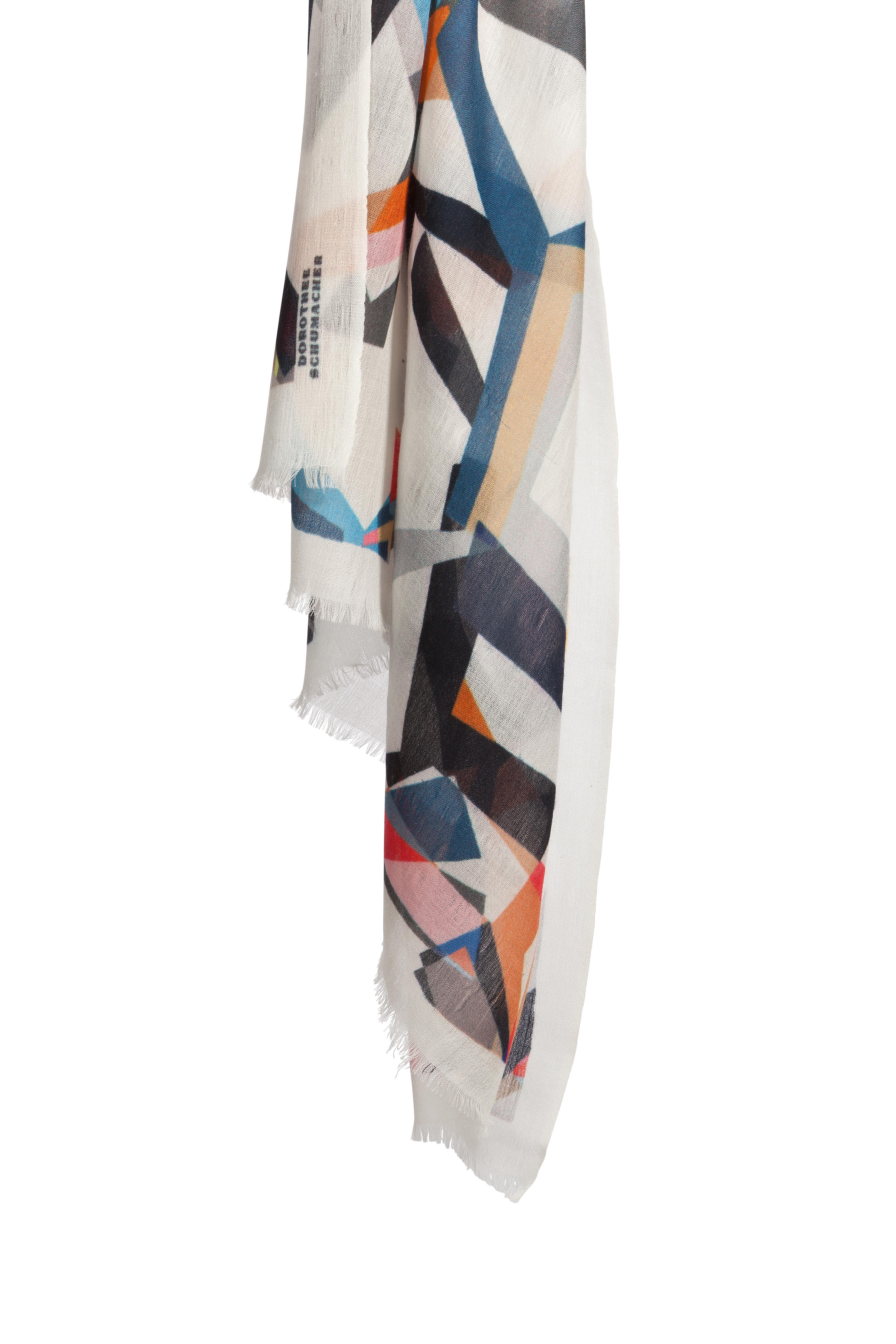 dorothee schumacher graphic movement wool scarf lyst