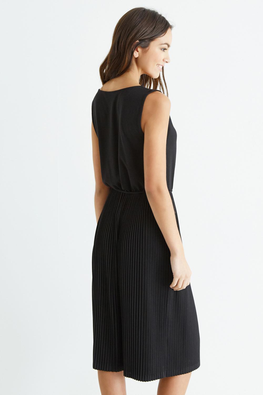 c0d97ebbb26b Oasis Pleated Midi Dress Uk