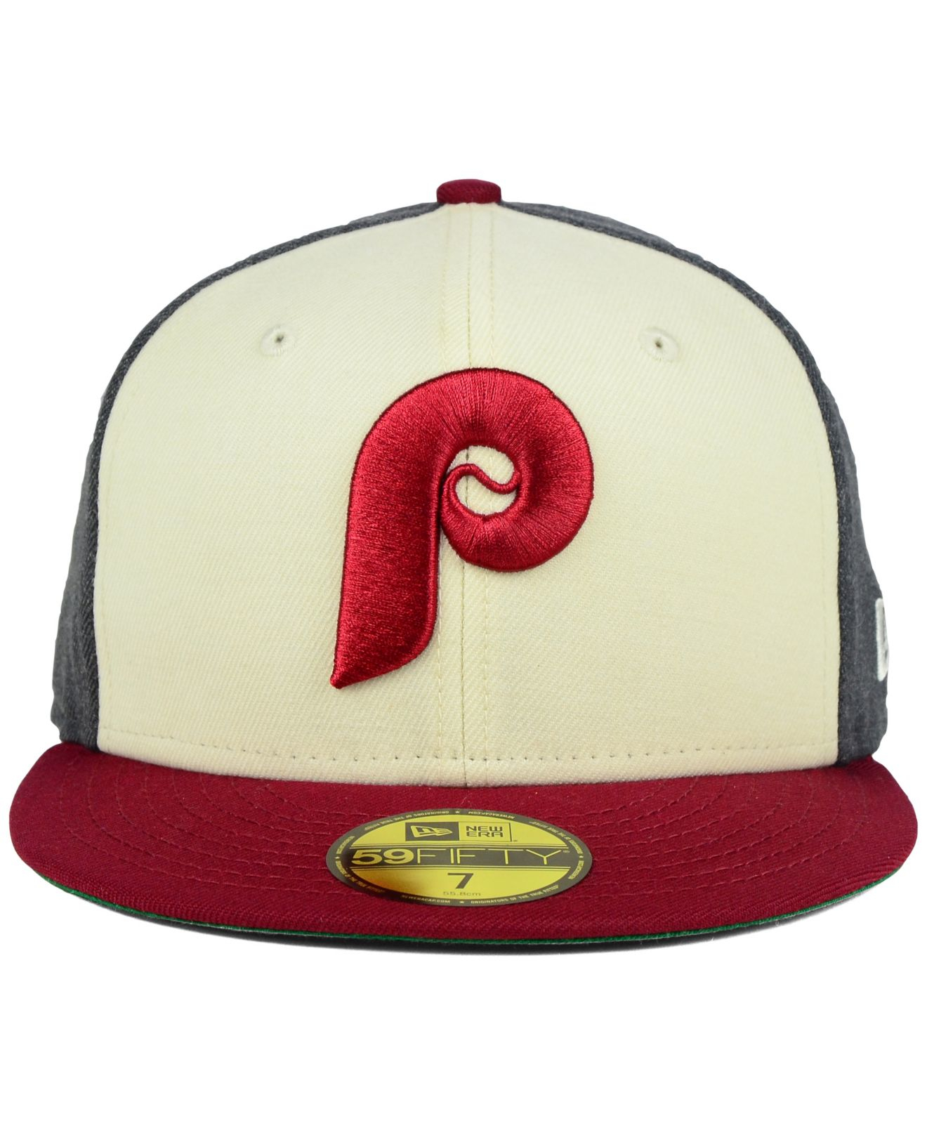 00228702728ef ... greece lyst ktz philadelphia phillies classic coop 59fifty cap in red  for men cc1c8 2a0db