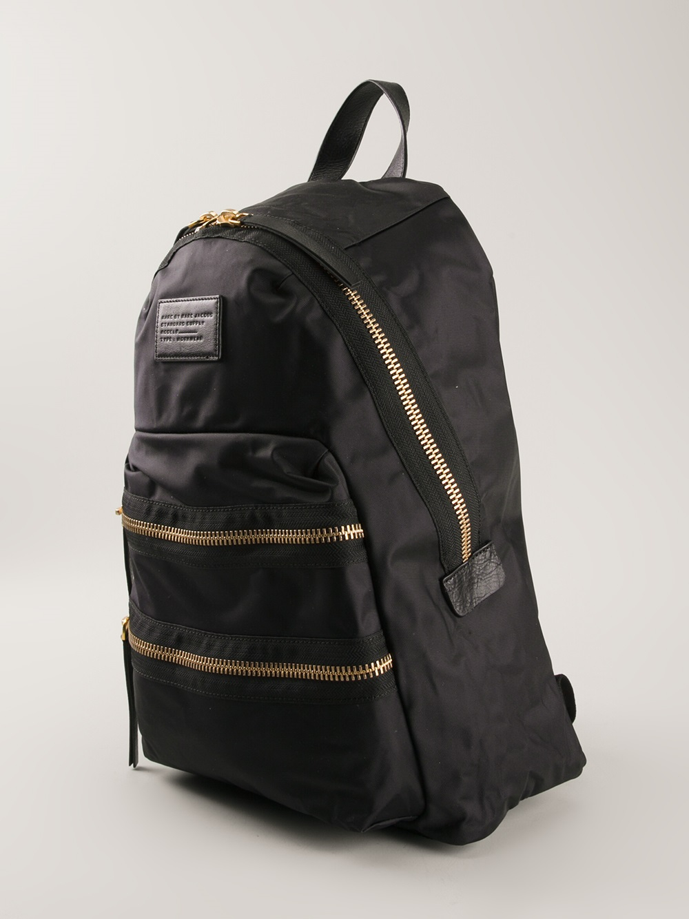 marc by marc jacobs 39 domo arigato packrat 39 backpack in black lyst. Black Bedroom Furniture Sets. Home Design Ideas