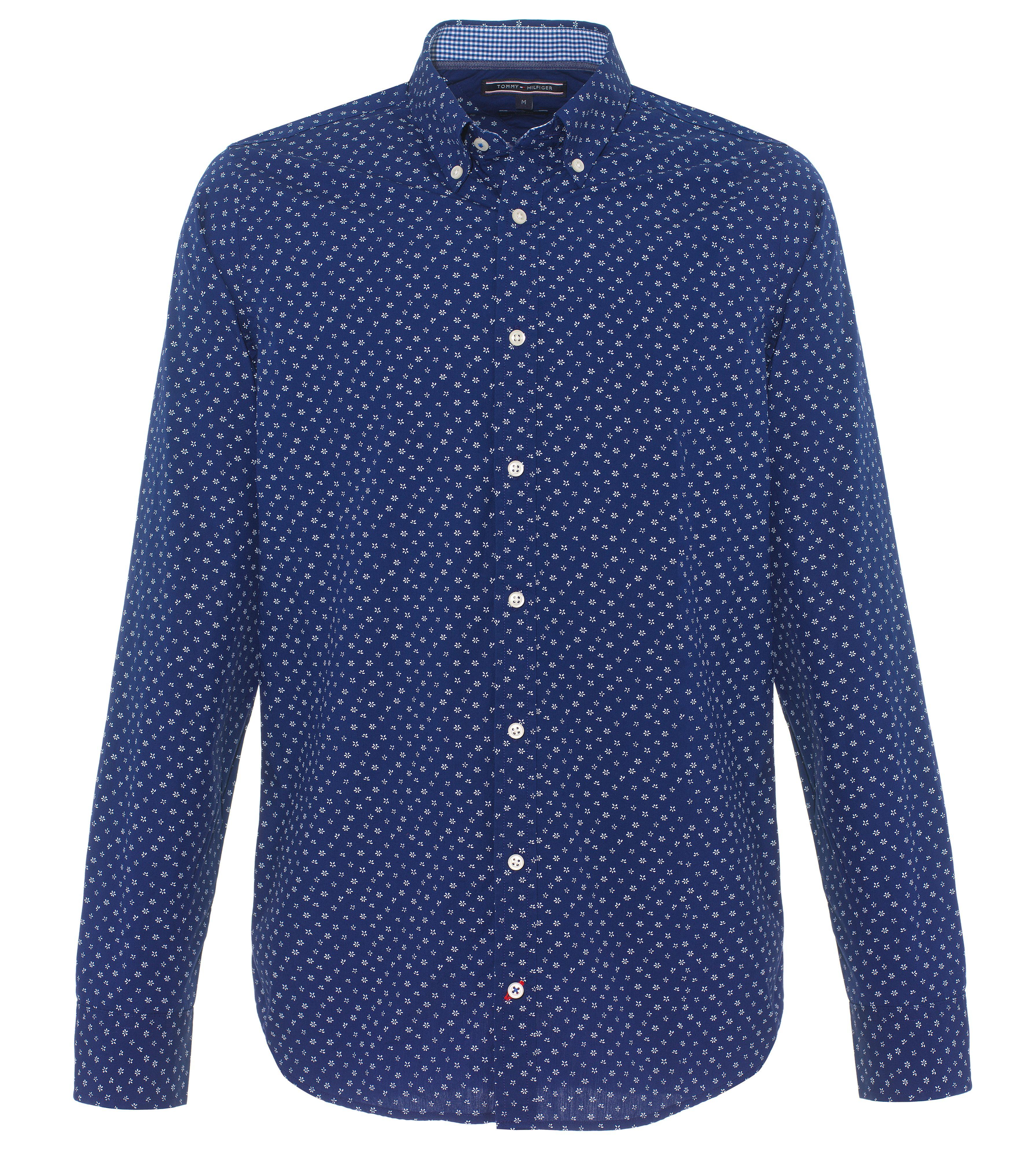 Tommy Hilfiger Fonda Pattern Long Sleeve Button Down Shirt