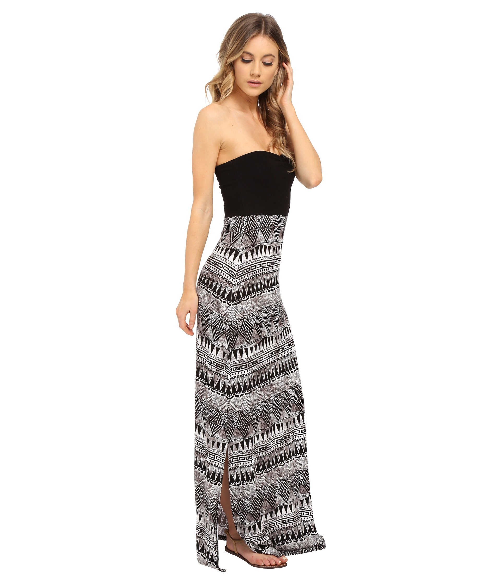 Hurley Tomboy Maxi Dress in White - Lyst